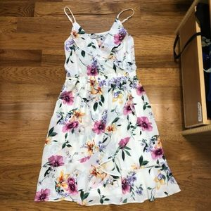 Dex Floral Printed Dress
